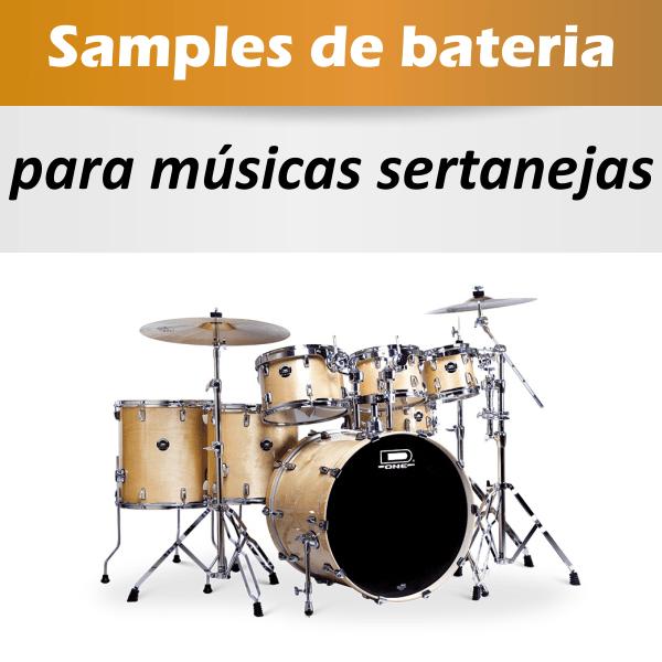 Samples de bateria para produções sertaneja - preset Studio Drummer